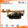 200m depth crawler water well drilling machine for sale