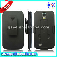 Hot selling belt clip combo holster case for samsung galaxy s4 holster celular
