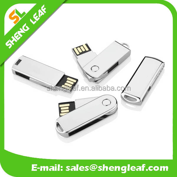 Promotion Gift Metal Swivel USB Flash Drive