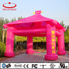 red color promotional inflatable tent, outdoor inflatable pavilion tent for photo studio