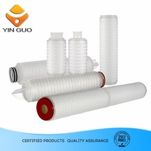 High strength and cost-effective hydrophobic PTFE Filter cartridge for gas and air in sterile venting of tanks