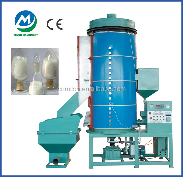 Milon hot sale Continuous pre expanded polystyrene beads machine