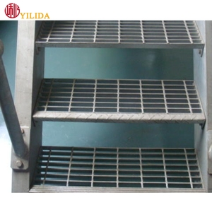 hot dipped galvanized stair nosing grating outdoor staircase steel bar grating