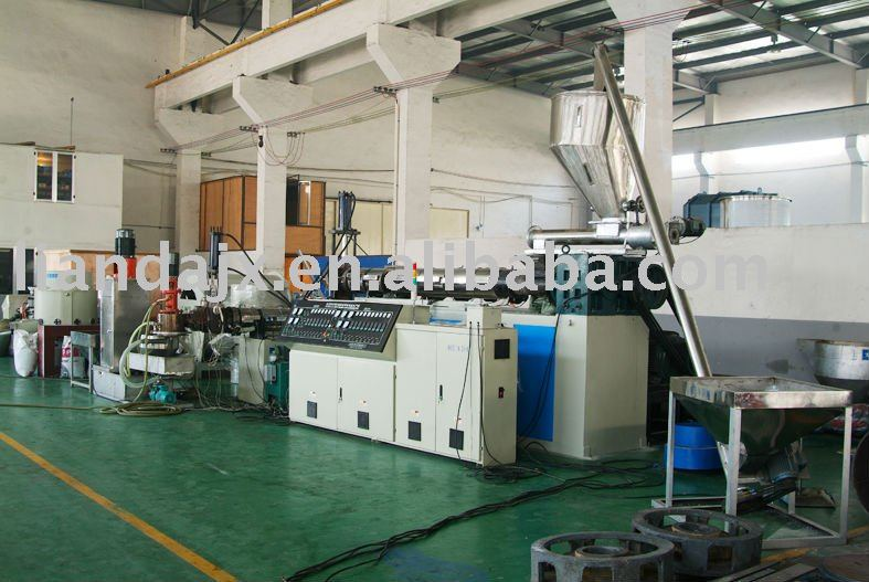 pp pe film granulating production line
