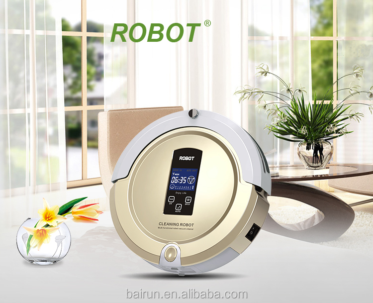 Hot 2017 multifunction robotic auto vacuum cleaner price