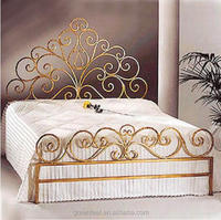stainless steel king wrought iron sofa cum bed frame
