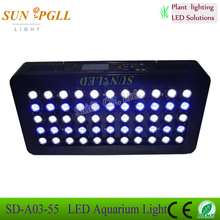 Best Selling Products 165 Watt Marine Aquarium LED Lighting Systems For Coral Reef