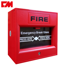 Firefighting Security Alarm System Manuale Equipment Emergency Break Glass