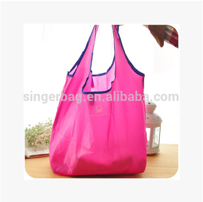 Hot selling custom logo reusable shopping tote bag Candy color for wholesales