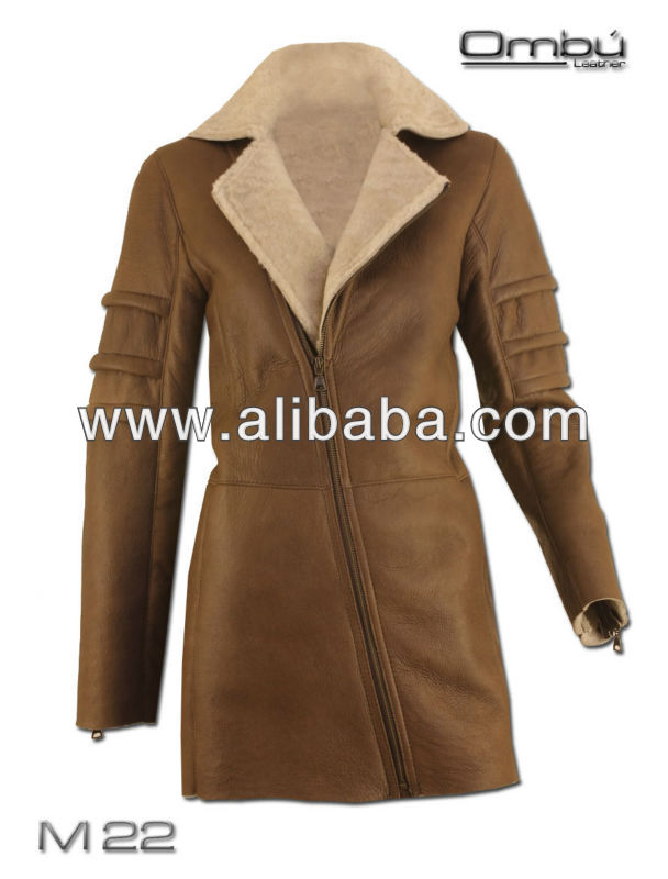 Women's Shearling Double Face Coat