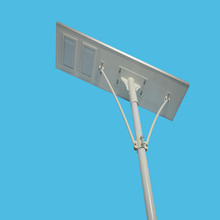 Hot all-in-one design system 100w outdoor solar power led street light