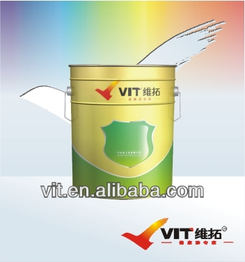 VIT rust resistance fluorocarbon paint,harmless and washable paint