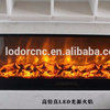 classic artificial electric fireplace with led light