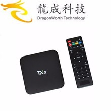 Tx3 Android TV Box Amlogic S905 Quad core Set top Box 1 G / 8 G Android 5.1 H.265 WIFI Smart TV