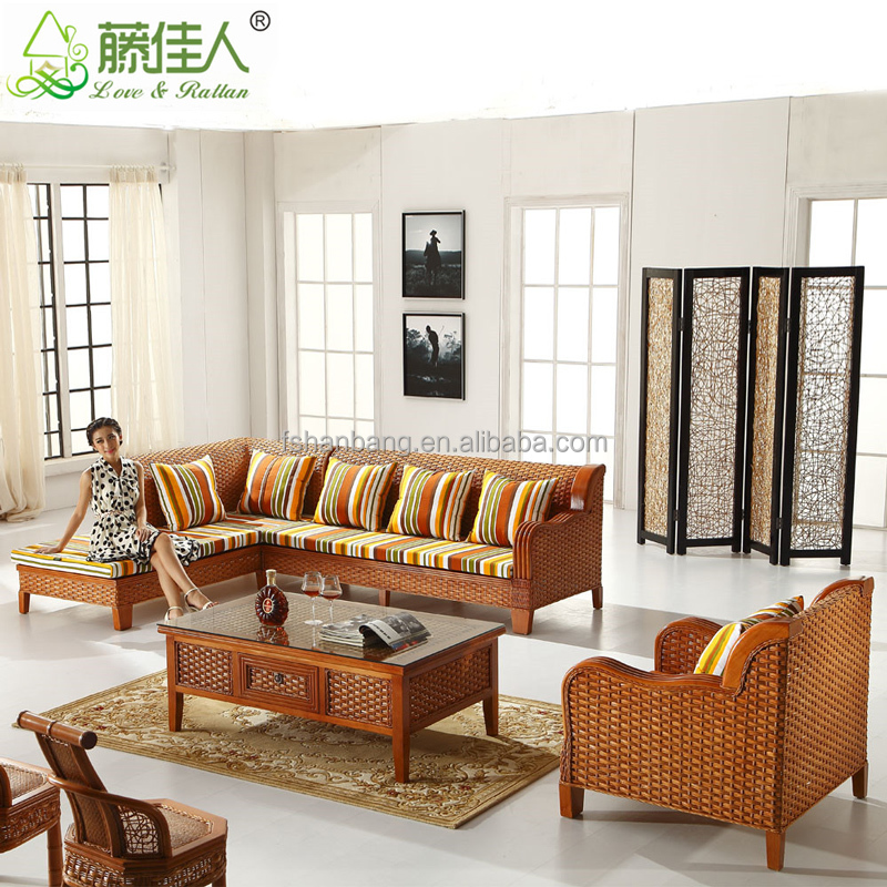 Wholesale antique royal elegant conservotary indoor wicker for Whole living room furniture sets
