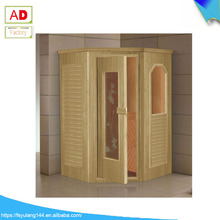 AD-9003 New Design Wood Steam Sauna House, Fashion Mini Outdoor Sauna Room for Sale