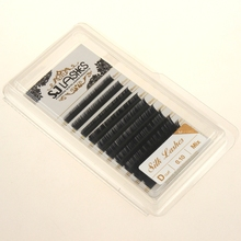 Mink/ Silk lashes private label /OEM indivudual eyelashes extensions