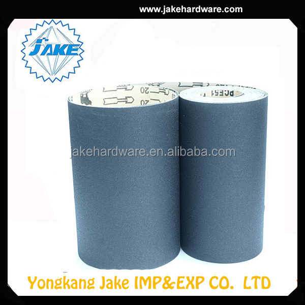 Good Quality Promotional sand paper emery cloth roll