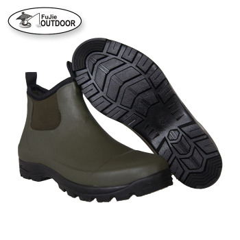 Men's Waterproof Garden Neoprene Rubber Rain Boots