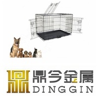 Easy fold down Animal Cage