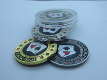 Free shipping high quality custom standard size 40mm custom poker chips clay