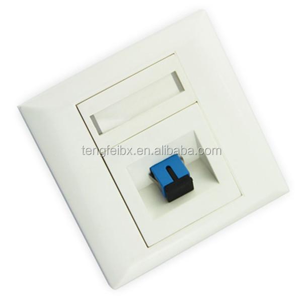 Sc Sc Fiber Optic Faceplate Amp Fiber Optic Connector Buy