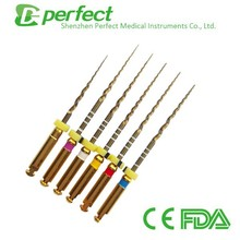 Endodontic files the Newest Product TG-6 Taper Engine File of China Manufacturer and chinese supplier dental rotary drill file