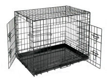 Foldable Pet Wire Cage For Dog