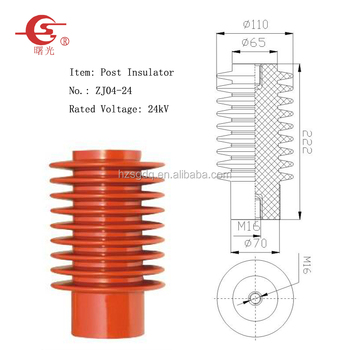 24kV Cast resin post insulators