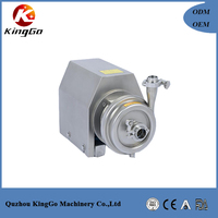 Hot Sales Stainless Steel Sanitary Milk Centrifugal Pump