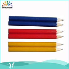 High End China HB Wooden Pencil Gold Supplier In Alibaba