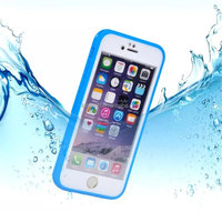 Waterproof TPU silicone rugged mobile cellphone protective case for iPhone 6S 6S Plus