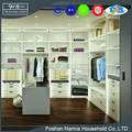New design mdf godrej wooden walk in wardrobe