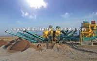 Stationary River Gravel Crushing, Screening And Washing Plant