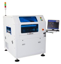 SMT automatic stencil solder paste printing machine for pcb board in electronic industry