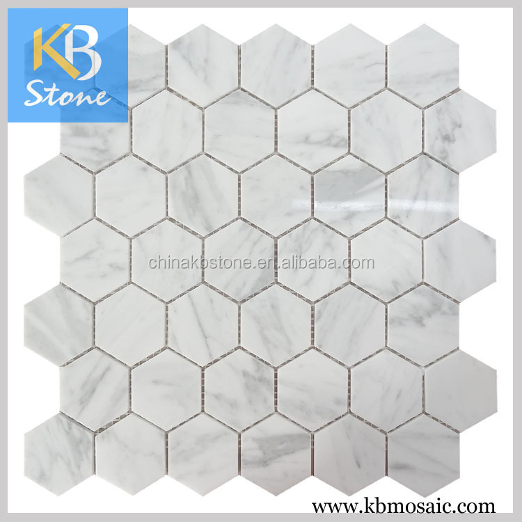 Mixture Of Light Grey Marble Mosaic