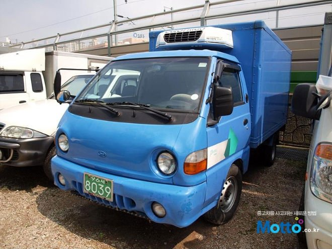 USED CAR 2001 HYUNDAI PORTER COLD STORAGE 1TON BLUE