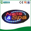 Hot selling high quality indoor food sign LED oepn sign outdoor programmable scrolling led sign
