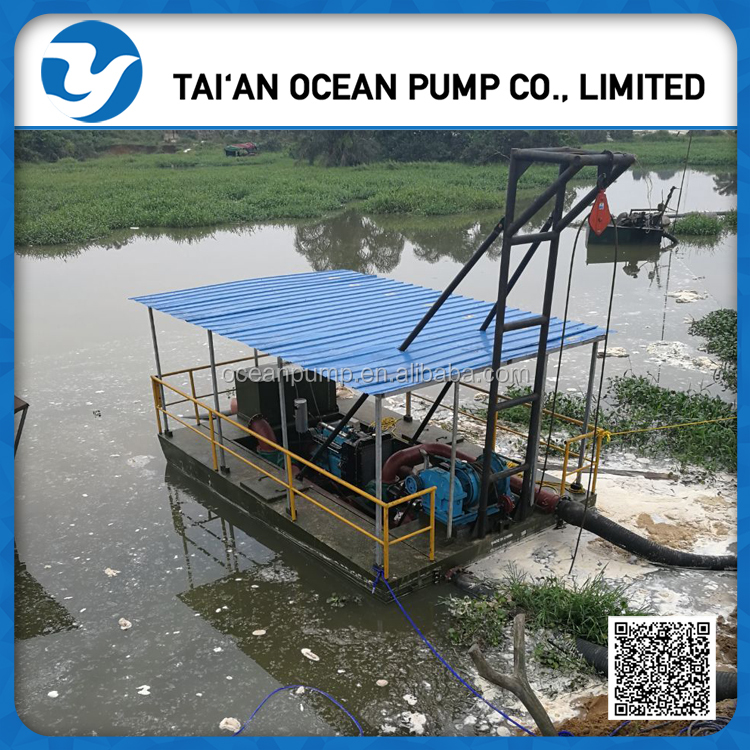 diesel engine driven sand suction dredging machine for sale