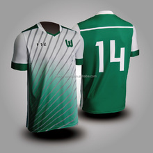Dye sublimated football jersey