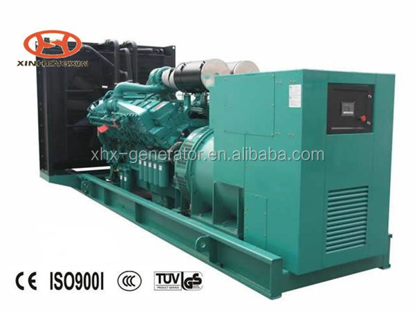 Contact Supplier Chat Now! 20-1000kw CE and ios approved water-cooled open type diesel generators