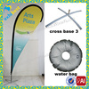 Outdoor Wind Teardrop Flag With Pole