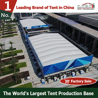 Two Floor Exhibition Stand Tent for Big Trade Show