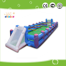 Winsun inflatable foosball sports game for kids and adults