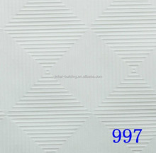 Particle board ceiling tiles