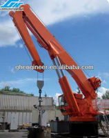 25t Knuckle boom ship crane