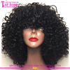 Stock afro kinky curly full lace wigs remy human hair curly afro wigs for black women
