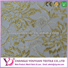 High quanlity sequin lace fabric for superior wedding dress