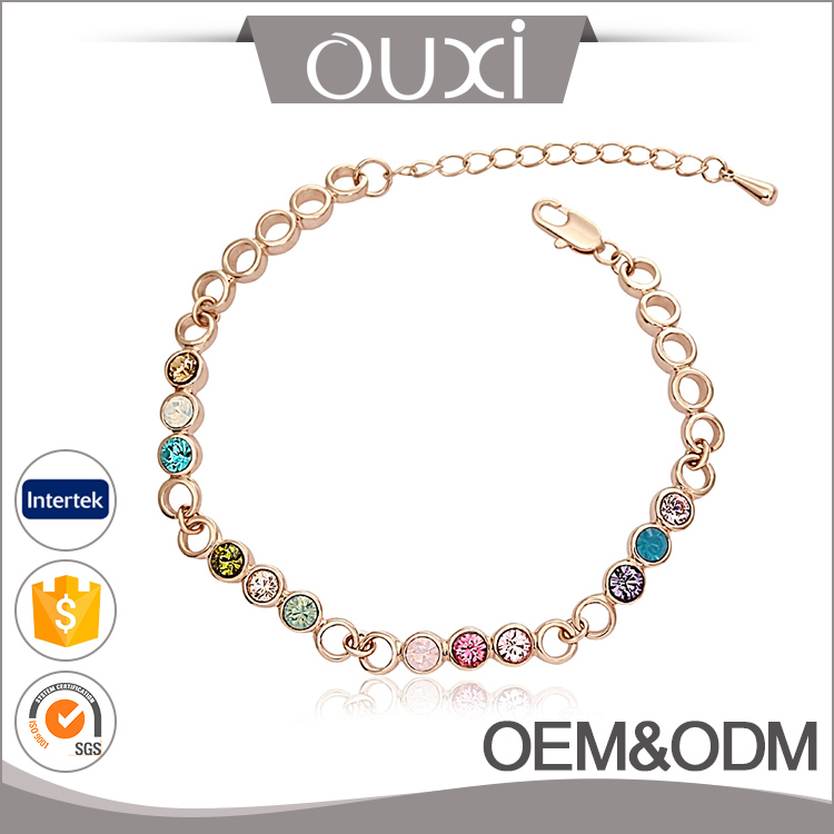 OUXI Female Fashion Jewelry Alloy Express Wholesale Bracelet