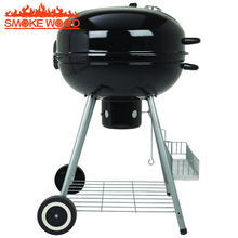 2017 Best selling Top Round Steel Window Grill Design Kettle Portable Outdoor Weber Charcoal BBQ Grill with storage basket